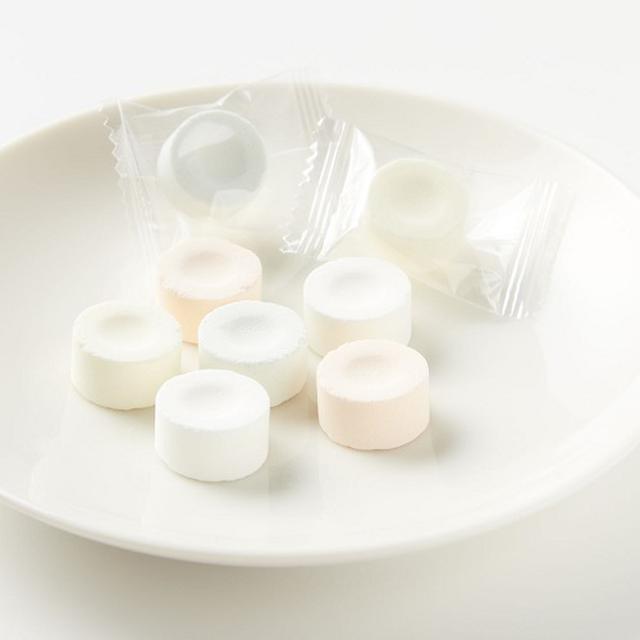 画像: 大きめサイズの「ミックスラムネ」は、食べ応えあり! www.muji.com