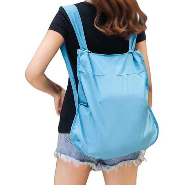 画像: たくさん買い物をする人には手が痛くならないリュックタイプがおすすめ www.amazon.co.jp