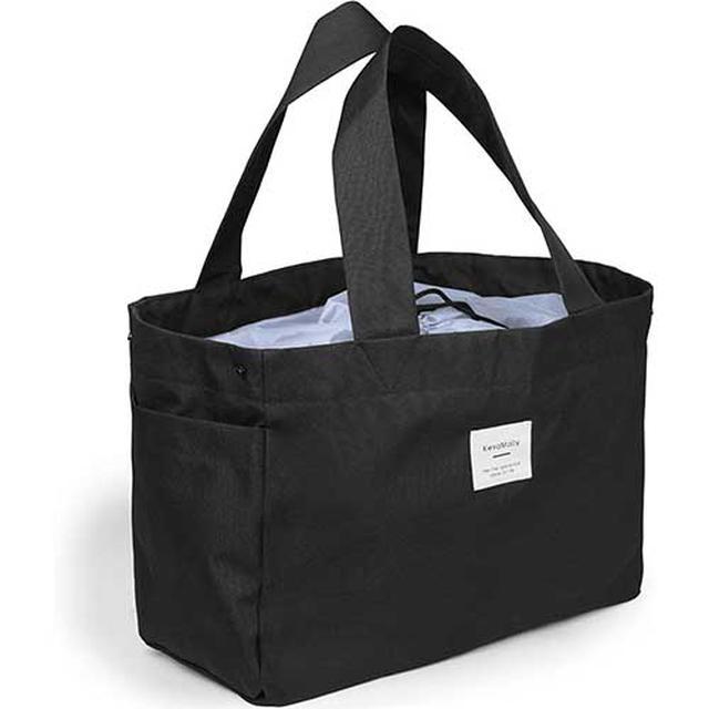 画像: 買い物カゴに直接セットできるタイプは袋詰めの作業がなくなり便利 www.amazon.co.jp