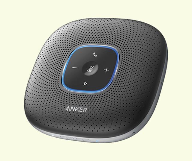 画像: アンカー Anker PowerConf 実売価格例:1万2980円 テレビ会議用に特化したブルートゥーススピーカーフォン。ノイズリダクションで相手に届く声をクリアにする。