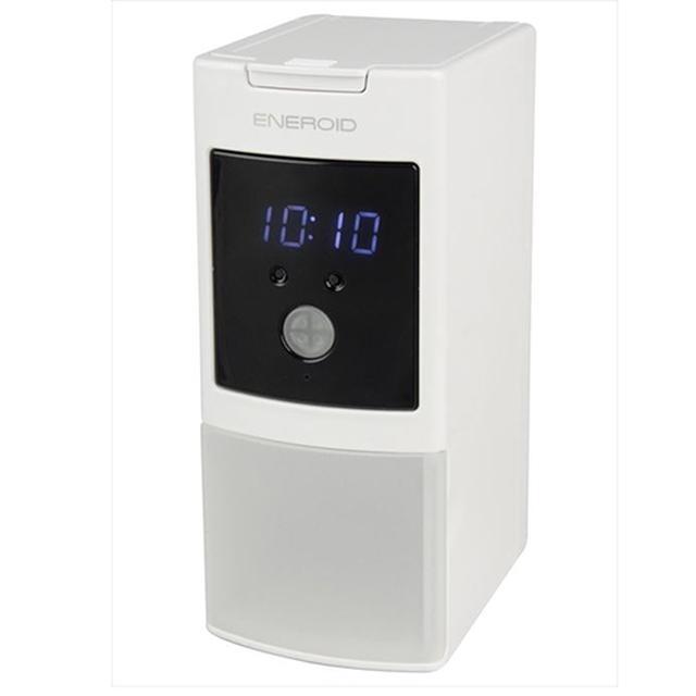 画像: ENEROID EN20Bに時計機能と3つのUSBポートを追加したENEROID EN20D。実勢価格はより高くなった。 www.kenko-tokina.co.jp