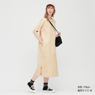 画像: 【ユニクロ】おうち服にぴったりな半袖ワンピ発見!マーセライズコットンロングTワンピース購入レビュー