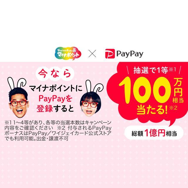 画像: マイナポイントペイペイジャンボ - PayPay