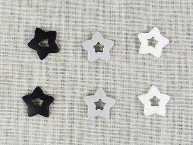 画像: 星型のデザインがとってもキュート