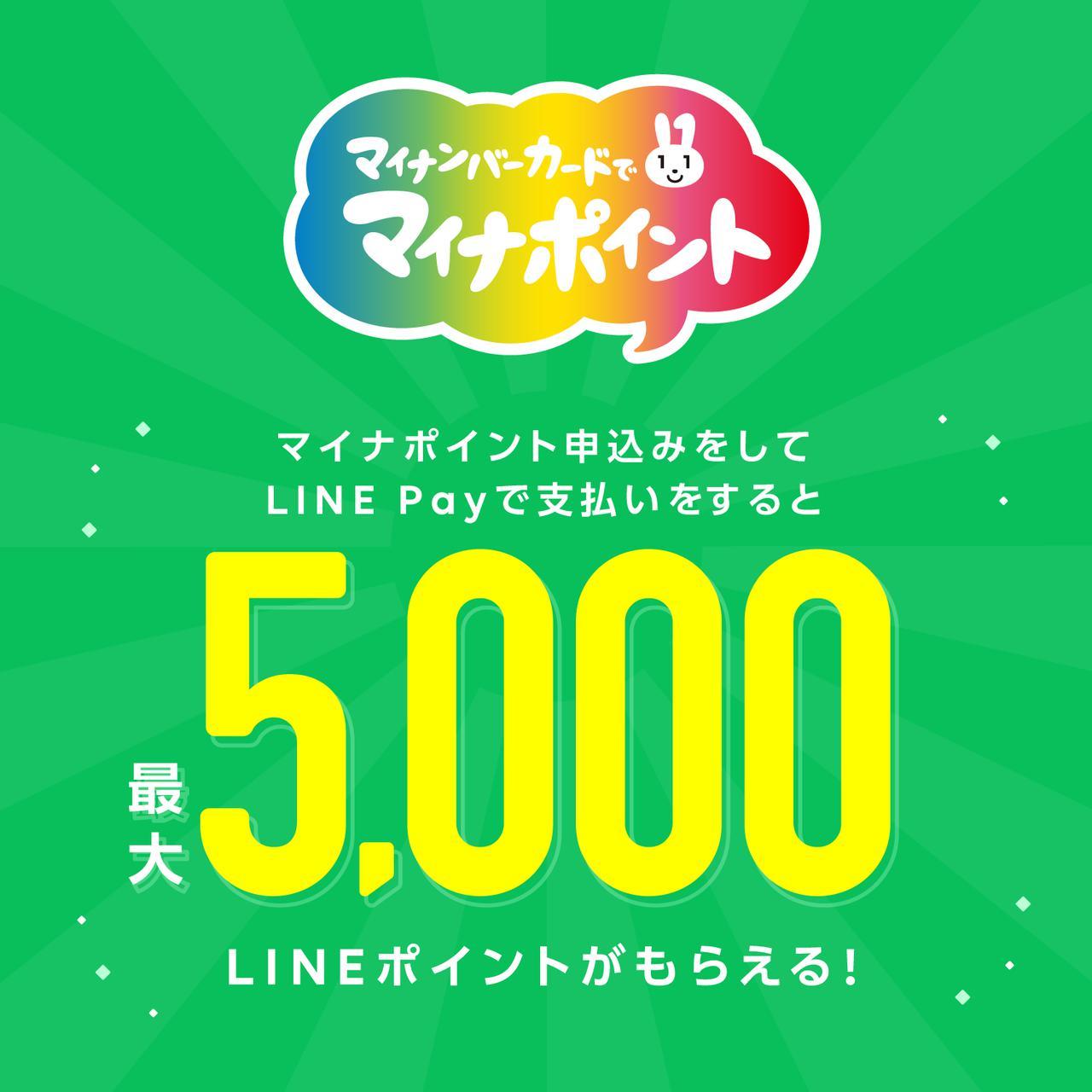画像: LINE Pay|マイナポイント事業