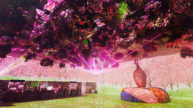 画像: 日本初!「マルチエンディング」型 花とデジタルのアートショー www.yomiuriland.com