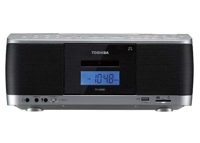 画像: TY-CDX91:SD/USB/CDラジオカセットレコーダー:東芝エルイートレーディング株式会社