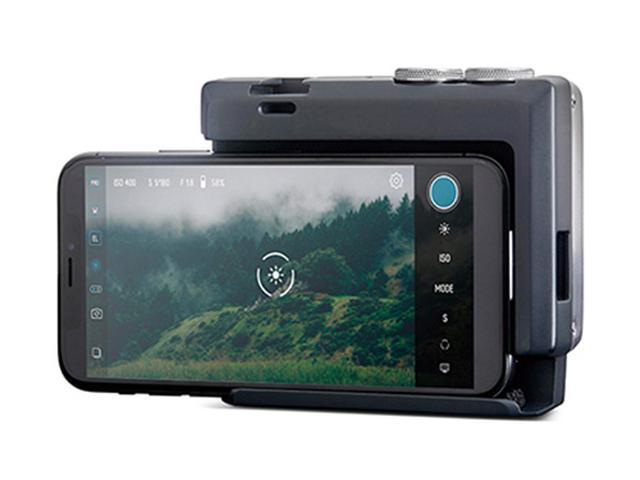 画像2: スマホ撮影のホールド性が大幅アップ。真ちゅう製のスマホ用カメラグリップ