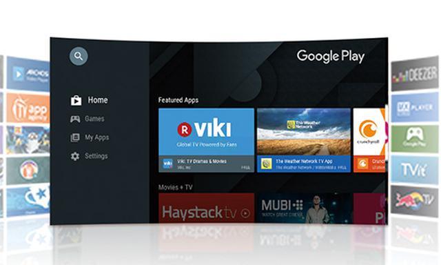 画像: Android TV搭載なので、多彩な動画配信サービスを楽しめる。さまざまなアプリを自由に追加することが可能だ。