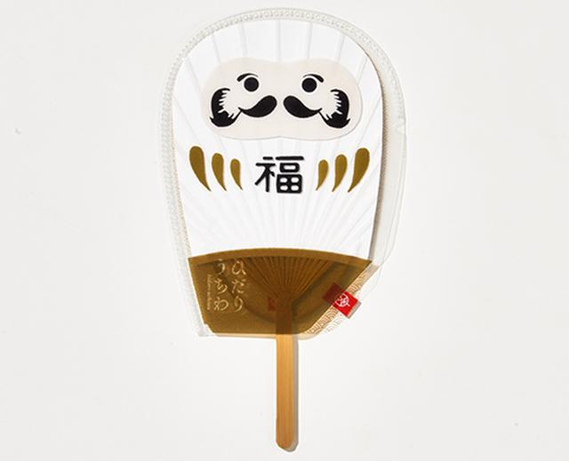 画像: だるま型うちわケース www.isshin-do.co.jp