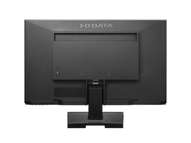 画像: 背面にはステレオスピーカー、HDMI入力とアナログRGB入力端子などを装備している。