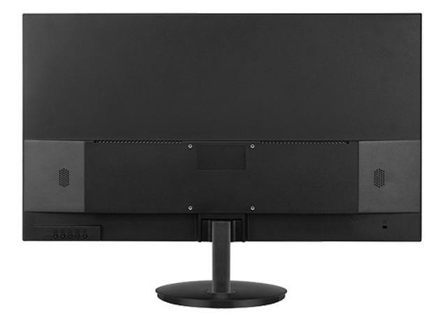 画像: 壁掛けやモニターアームなども利用できる。3基のHDMI端子のほかDisPlay Portなど、端子類も充実している。