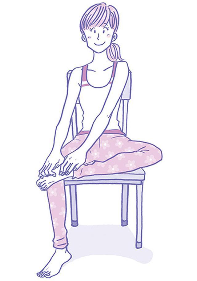 画像2: 【こむら返りの対処法】背中のツボ押しでふくらはぎの痛みが消えて再発も防止