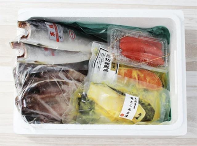画像: 築地 山治:厳選干物セット(冷凍) senchoku.com