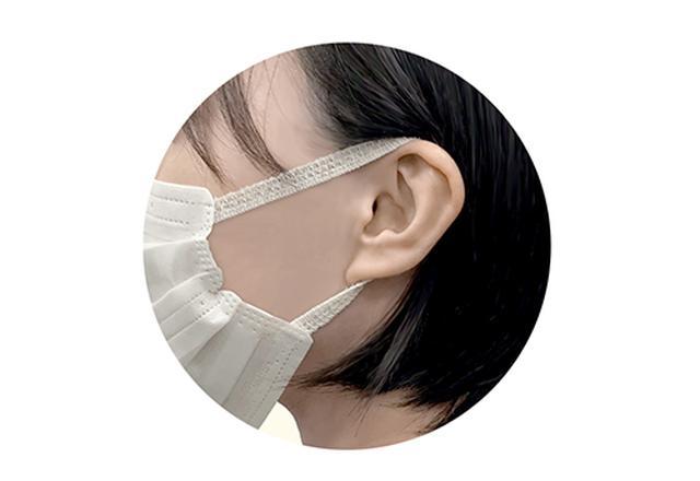 画像: 包帯の技術を応用した「耳掛け」