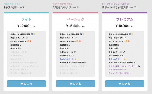 画像: 送料は全国一律600円かかる。レンタルの返却の送料は不要。 gc.uni-web.jp