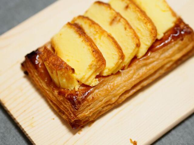画像: バスチーにひと手間加えた「チーズアップルパイ」