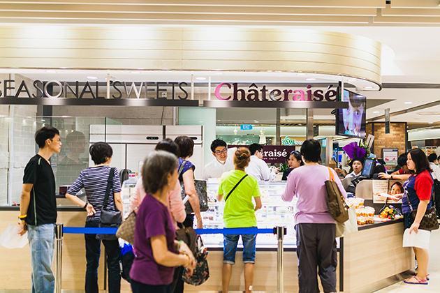 画像: 2015年1月、シンガポールにアジア一号店がオープン www.chateraise.co.jp