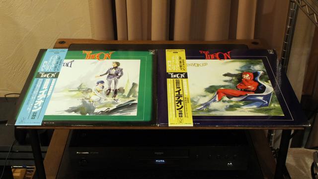 画像: キングレコードから発売された「接触篇」と「発動篇」のオリジナルサウンドトラック(絶版)。すぎやまこういちファンも必聴のアルバム。