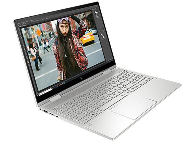 画像: HP ENVY x360 15(インテル) サイズ・重量/幅358㎜×奥行き230㎜×高さ18.9㎜・2.0㎏