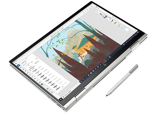 画像: HP ENVY x360 15(インテル)、デジタイザーペン(同梱)