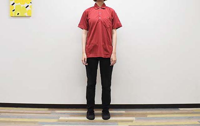 画像: 毎日でも着たい「ポケット付き半袖ポロシャツ」