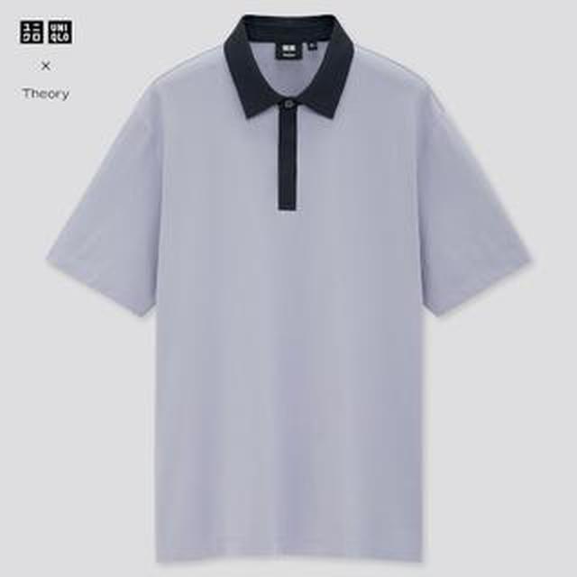 画像: 【ユニクロ】セオリーとコラボ!メンズの「エアリズムジャージースリムフィットポロシャツ」購入レビュー