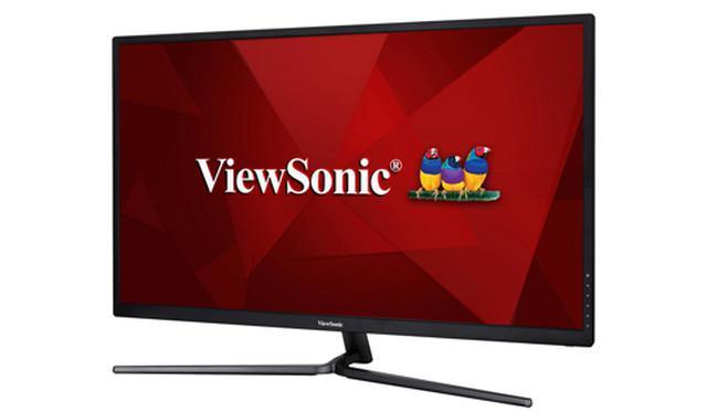 画像: VewSonicの31.5型ワイドディスプレイ「VX3211-4K-MHD-7」。 www.viewsonic.com