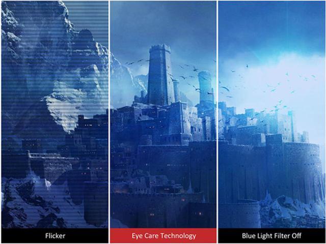 画像: ViewSonic独自のアイケアテクノロジーを搭載。 www.viewsonic.com
