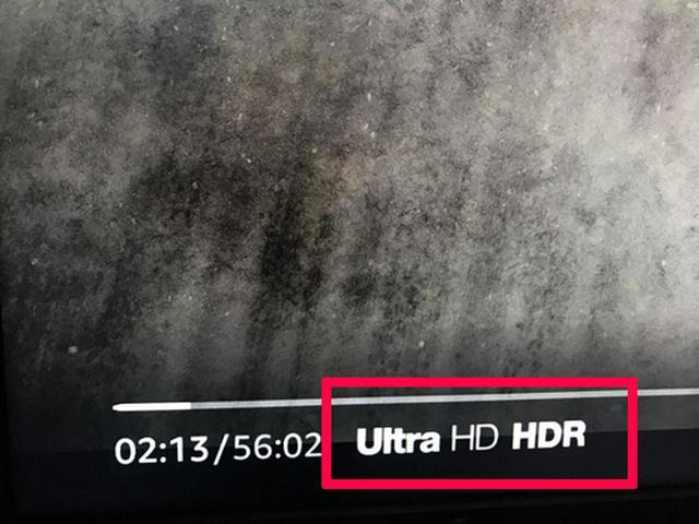 画像: Prime Viedoでは4K(Ultra HD)作品に加え、HDR対応コンテンツも配信されている。