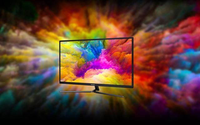 画像: 「VX3211-4K-MHD-7」はNTSCカバー率86%、NTSC比95%に対応し、動画や写真で鮮やかな色彩表現を可能としたディスプレイだ。 www.viewsonic.com