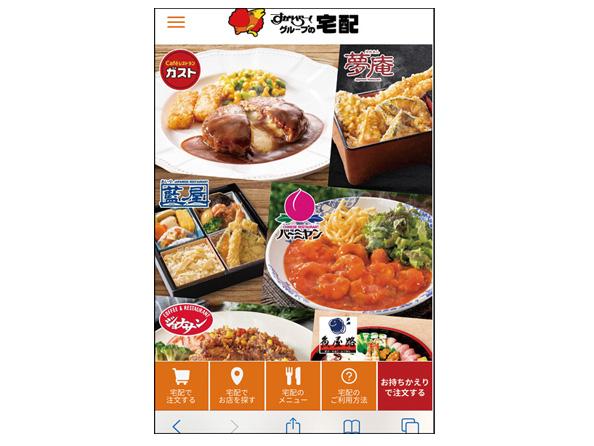画像2: ● アプリで料理を選べば届けてくれる