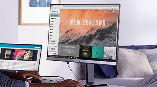 画像: 4K出力に対応した中古ノートパソコンを購入しておけば、いざというときに大画面環境を実現できる。 jp.ext.hp.com