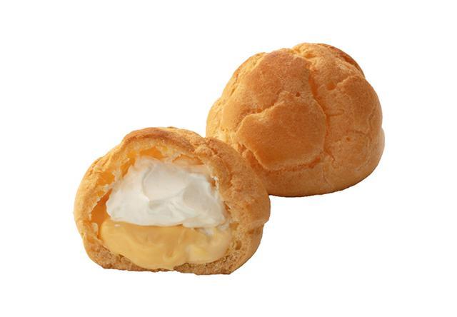 画像: 糖質50%カットのダブルシュークリーム 価格118円 (税込)1個当たりエネルギー200kcal、糖質8.1g(エリスリトールを除く) www.chateraise.co.jp