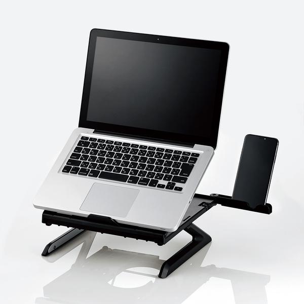 画像: スマホスタンドやキーボード収納も用意した多機能モデル www.elecom.co.jp