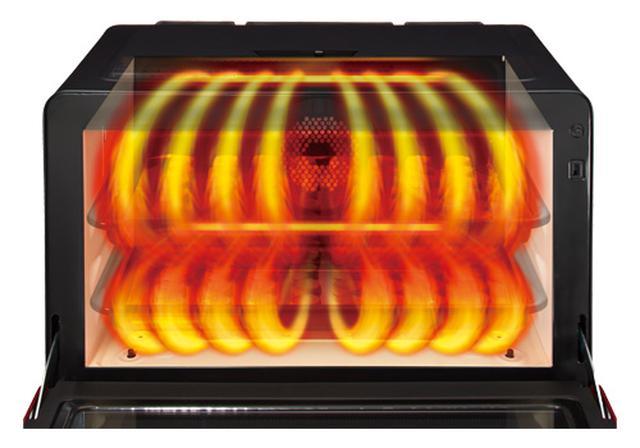 画像: ヘルシーシェフ MRO-W10X(300℃熱風2段オーブン)