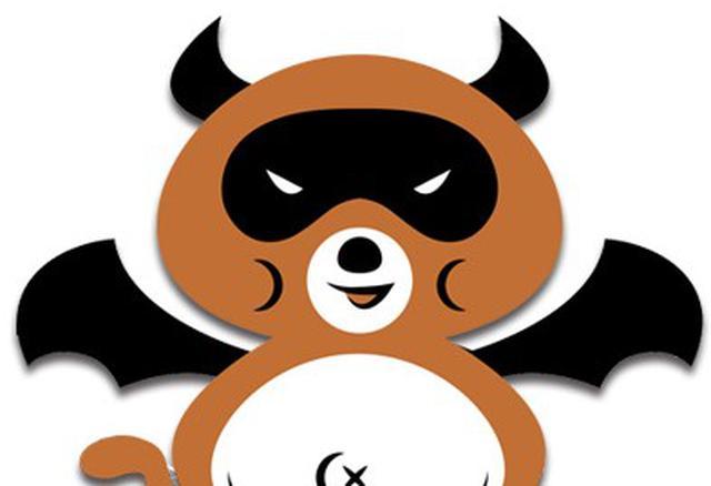 画像: 悪魔のおにぎりのメインキャラクター「あくまでタヌキくん」は、デーモン閣下のファン