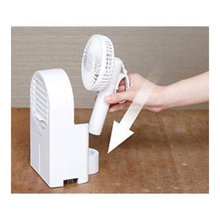 画像1: 【1台5役】手持ち扇風機「シロカのひえひえファン SF-H271」がおすすめ!水を入れると涼しくて気持ちいい冷風機に変身