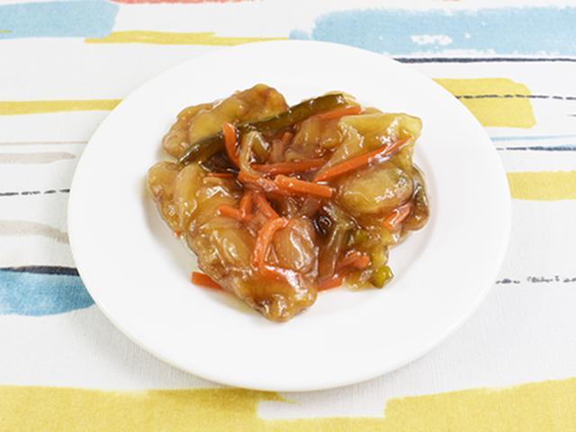 画像1: シャキシャキ野菜とさばの竜田揚げの相性バツグン!