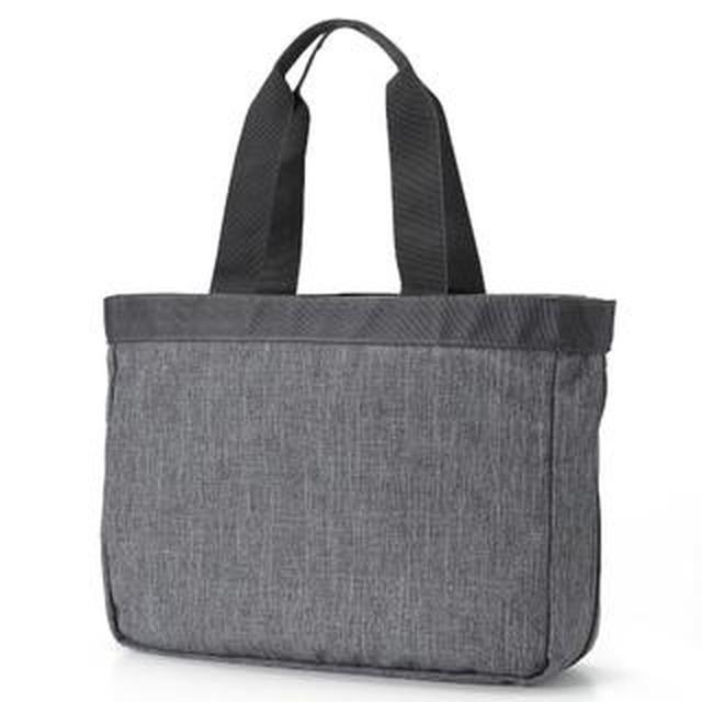 画像: 【無印良品】マザーズバッグにぴったり!荷物の量で広げられる「撥水トートバッグ」購入レビュー
