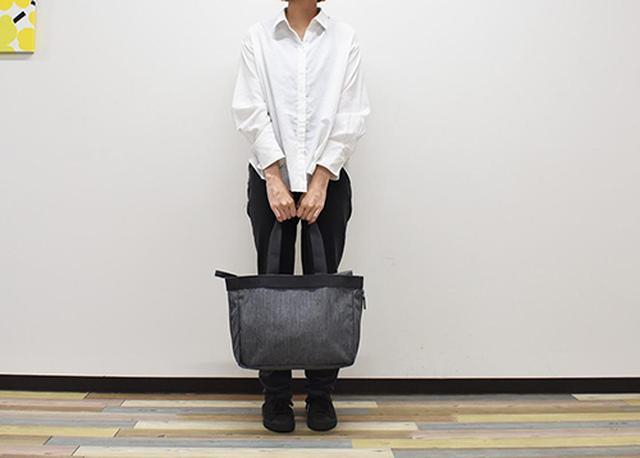 画像: 機能的で使い勝手のいい「荷物の量で広げられる 撥水 トートバッグ」