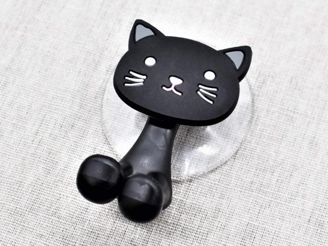 画像: 愛くるしいデザインに一目惚れ!「歯ブラシホルダー(黒猫)」