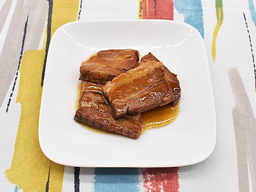 画像1: レンチン&湯せんで温めるだけで絶品の角煮が完成!