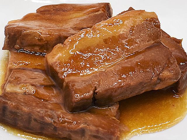 画像2: レンチン&湯せんで温めるだけで絶品の角煮が完成!