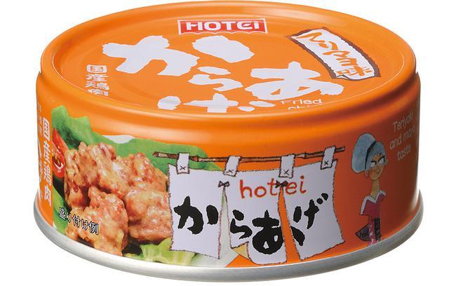 画像: 焼き鳥缶と同じデザイン。唐揚げ缶もホテイを代表する商品に育ってほしいという願いが込められている。