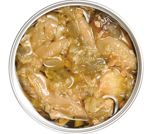 画像: フタを開けるとそこは上質な空間。キノコ(しめじ)は見た目どおりぷりぷり食感で、マグロはうまみがたっぷり含まれている。