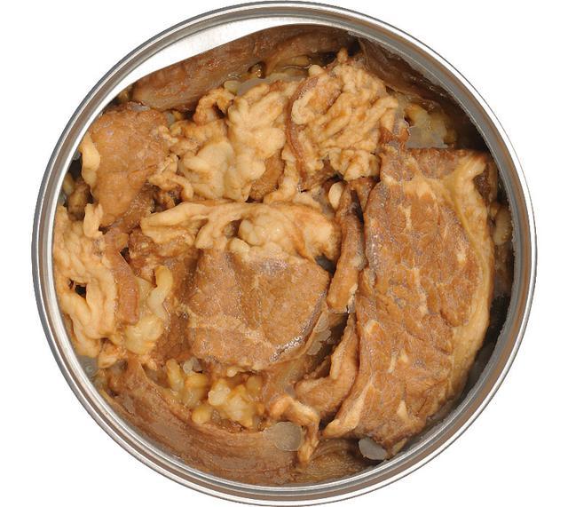 画像: みごとに茶色い世界。それはすなわち吉牛の世界でもある。玄米はやわらかいがプチプチとした食感が楽しい。栄養も豊富だ。