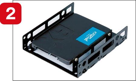 画像2: ■ HDDを外し、SSDを取り付ける