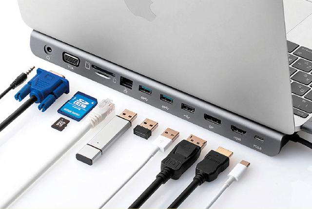 画像: ■ USB Type-Cケーブル一本でノートパソコンの機能を拡張