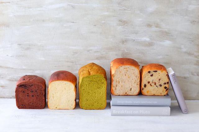 画像: チョコパンにくるみパン、 ほうれん草パンまで作れる!